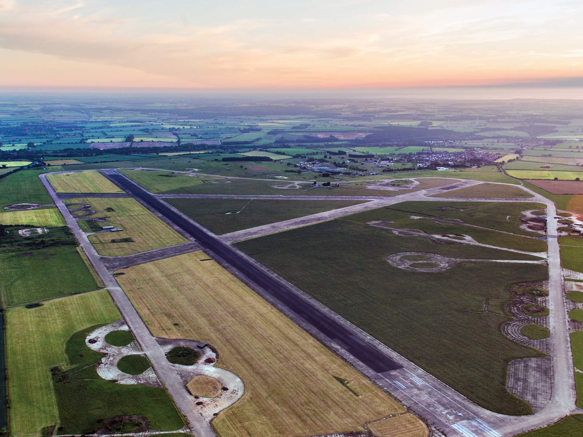 RAF Sculthorpe aerial view