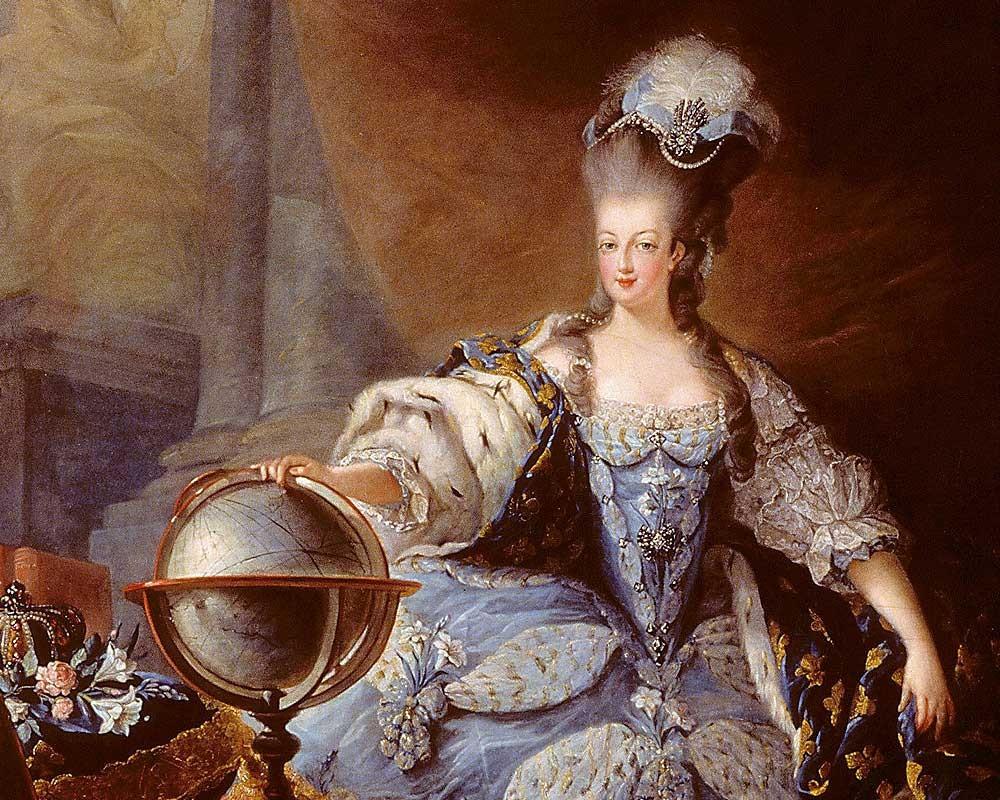 A 1775 painting of Marie-Antoinette by Jacques Fabien Gautier d'Agoty
