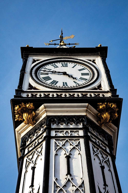 Downham Market Clock Tower close up