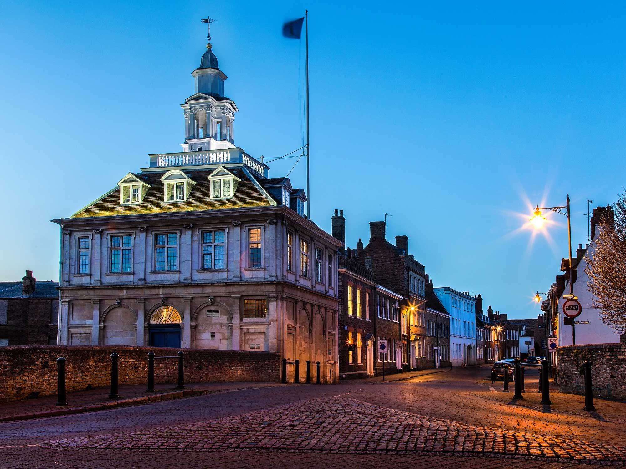 The Custom House in King's Lynn is one of Henry Bell's most famous buildings