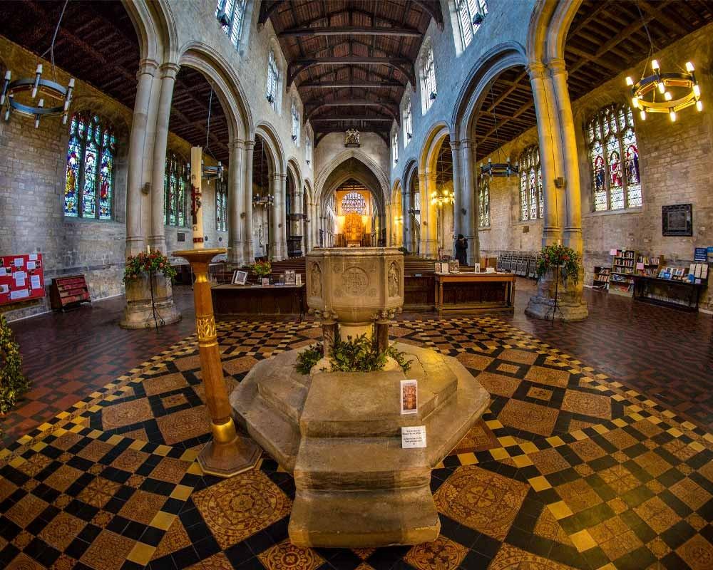 Inside the King's Lynn Minster