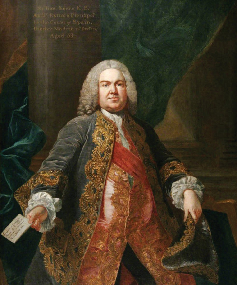 Portrait of Sir Benjamin Keene