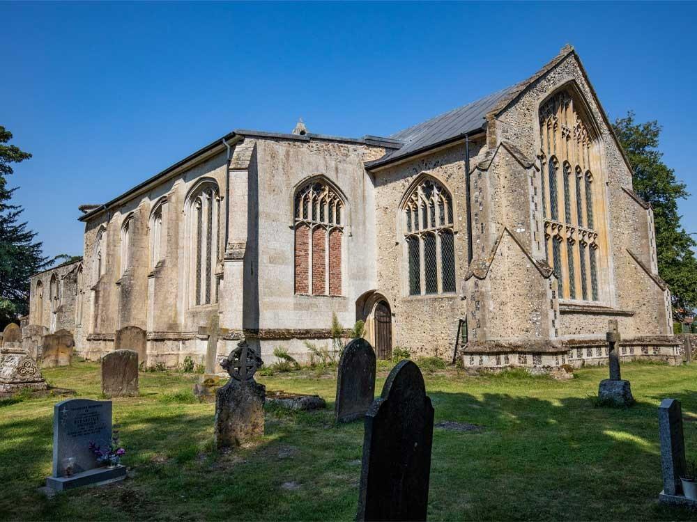 The church of St John at Oxborough