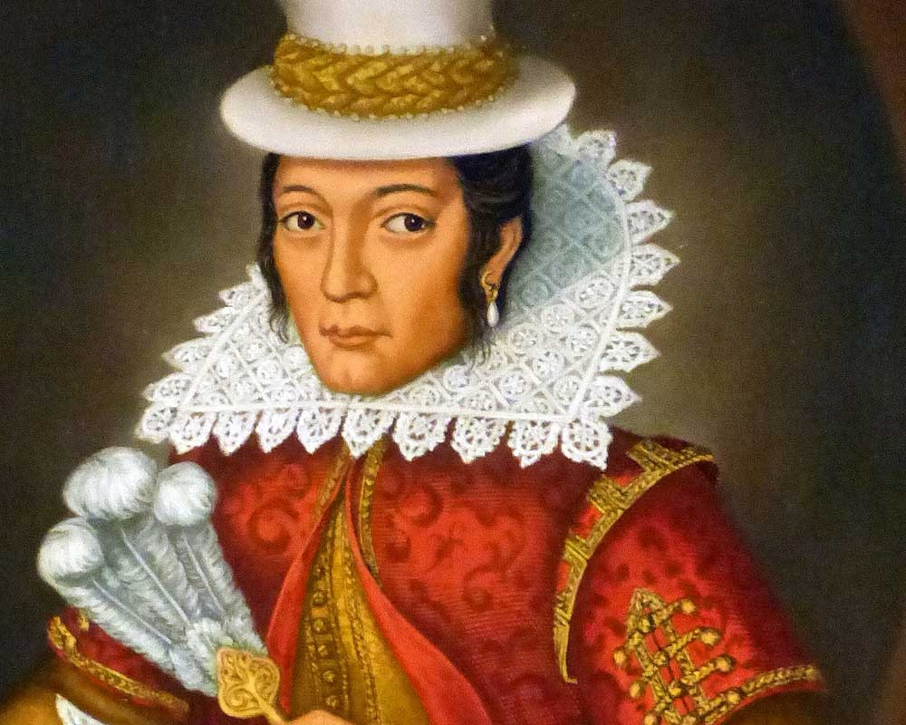 This 1994 portrait of Pocahontas by Mary Ellen Howe is believed to be the most accurate that can now be produced