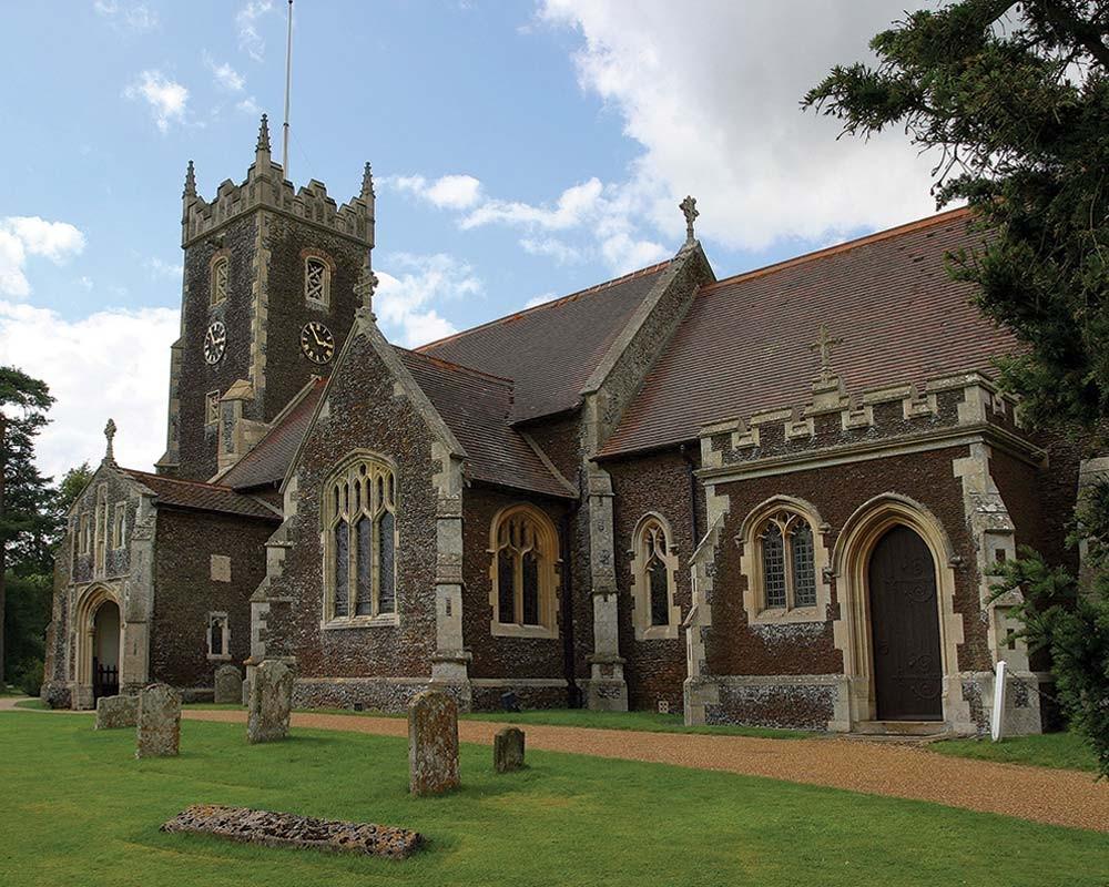 Sandringham Church Outside