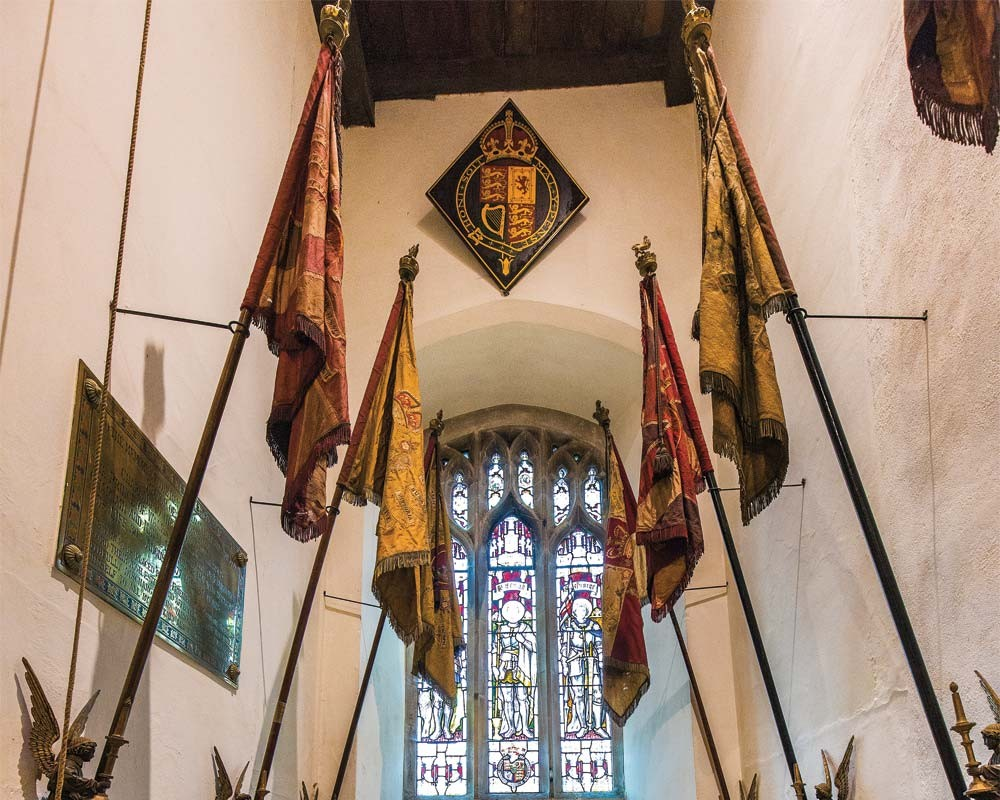 Sandringham Church Flags & Crest
