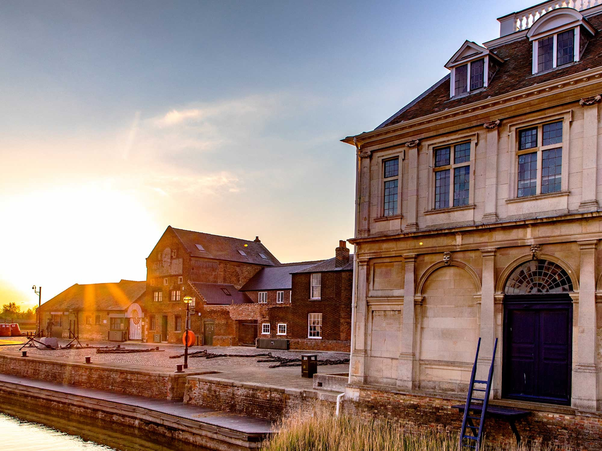 Customs House King's Lynn at Sunset